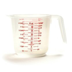 Norpro Plastic 4 Cup Measuring Pitcher Tool With Handle And Pour Spout New