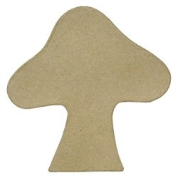 Paper Mache Table Decor Mushroom 9 In. By Craft Pedlars