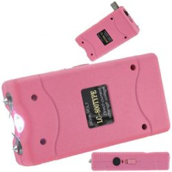Sale Pink 3.5 Million Volt Stun Gun & Case