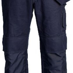 Skillers 100% Cotton Navy Blue Pants - Size 34X28