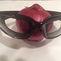 Pro-Chef Black No Tear Onion Cutting Goggles
