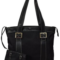 """Swissgear """"Diana"""" Women'S Business Tote Bag With Padded Compartment For Computer Up To 15.4"""" - Black"""