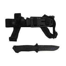 Knife, Lmf Infantry-Black, Sheath