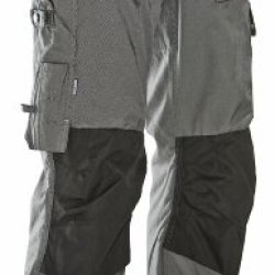 Jobman Workwear Men'S Lightweight Craftsman Workpants Graphite/Black 36X34
