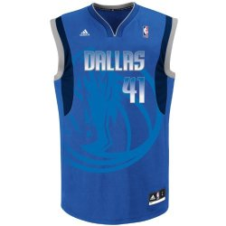 Nba Men'S Dallas Mavericks Dirk Nowitzki Draft Cap Jersey (Blue, Xx-Large)