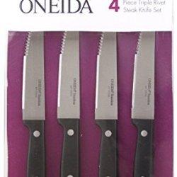 Oneida 4-Pc Triple Rivet Steak Knives