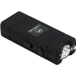Vipertek Vts-881 - 17,000,000 V Micro Stun Gun - Rechargeable With Led Flashlight (Black)