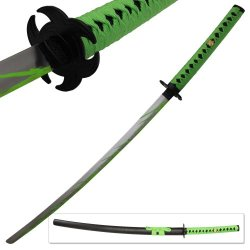 Biohazard Zombie Slayer Toxic Apocalypse Sword Michonne Walking Katana Dead Green