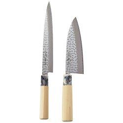 Seki Tobei 2 Japanese Knives Sashimi And Deba