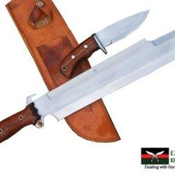 "14"" Predator Euk Knife, Egkh Survival Machete, Military Hunting Khukuri Or Kukris Handmade By Ex Gurkha Khukuri House In Nepal"