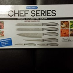 Sharp Select Chef Series Surgical Stainless Steel Cutlery (6)
