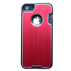 Anko Cool Robust Multi-Functional Metal Protective Phone Case With A Small Swiss Army Knife For Apple Iphone 4 4S (Red)