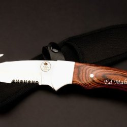 Hunting Knife Skinner White River Hunter By Ed Mahony