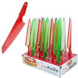 Handy Helpers Cake Knife With Counter Top Display