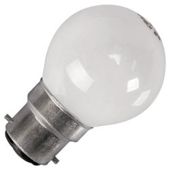 Eveready 2 X 25W Bc (Bayonet Cap) Opal Ball 45Mm Globe Bulbs - Pack Of 2 - [Eu Specification: 220-240V]