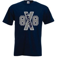 "Dez Bryant Dallas Cowboys ""X Factor"" T-Shirt Adult Small"