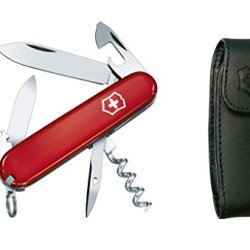 Victorinox Spartan Swiss Army Knife Red With Pouch 53251