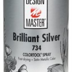 Design Master Dm-M-734 Colortool Floral Metallics Spray Paint 12 Ounces