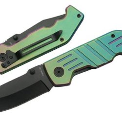Szco Supplies 211153 Combat Warrior Folding Knife