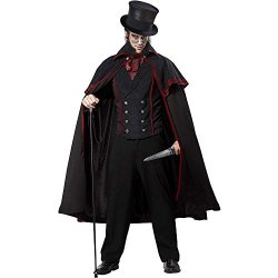 Jack The Ripper Costume - Large - Chest Size 42-44