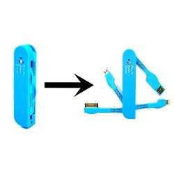 Play X Store® Free Shipping Gkd-G1 3-In-1 Hi-Speed Quality Stylish Swiss Army Knife Shape Portable Cable Set Micro Usb To Usb, Lightning Cable, Apple 30 Pin (Pack Of 4) Compatible With Apple Iphone, Ipad Air, Ipad Mini, Samsung Mobile Phones Galaxy S4, Go