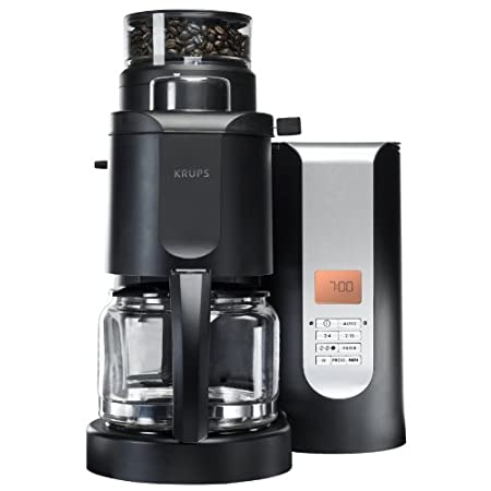 Inspired by professionals and designed for connoisseurs, KRUPS products  have been built with three key attributes in mind: Passion, Precision  and Perfection. The KRUPS KM700552 Grind and Brew coffee maker embodies  the mastery of the key components...