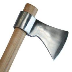 """Polished Perfectly Balanced 19"""" Throwing Tomahawk Axe Hatchet"""