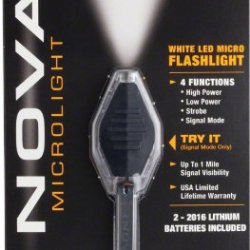 Inova Cb-W Translucent Microlight, White Led And Black Grip