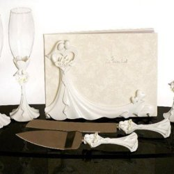 Bride & Groom Calla Lilies Set C420423 Quantity Of 1