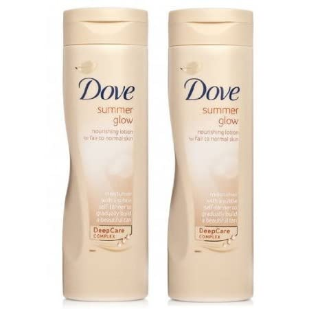 Dove Summer Glow Daily Moisturising Body Lotion gently moisturises your skin whilst gradually building a beautiful natural looking tan. The more often you apply the darker the tan