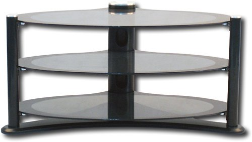 Image of Pinnacle Design Oval TV Stand for Flat-Panel TVs Up to 44