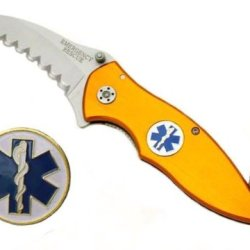New M-Tech Ems Rescue Knife Mx8018