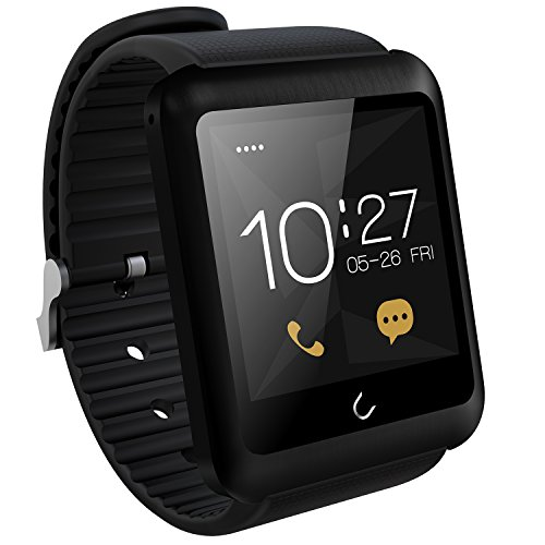 UWatch SmartWatch U11-Reloj Bluetooth Smart Tarjeta SIM admitida color nergo