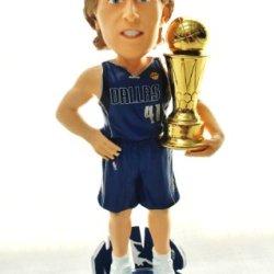 Dallas Mavericks #41 Dirk Nowitzki Nba Official 2011 Championship (Mvp) Trophy Bobblehead Bobble