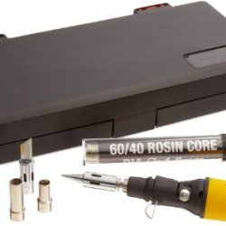 Aven 17801-Kit Portable Soldering Iron Kit, 30W, In A Heavy-Duty Box