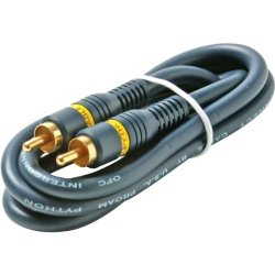 3' Python? Home Theater Rca Video Cable 3' Python? Home Theater Rca Video Cable