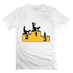 Mens Beer Sex 2 T Shirt - Nice Custom White Tshirt
