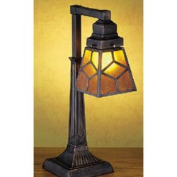 20 Inch H Diamond Mission Mica 1 Lt Desk Lamp Table Lamps