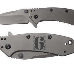 Navy Seal Team 6 Engraved Kershaw Cryo 1555Ti Folding Speedsafe Pocket Knife By Ndz Performance