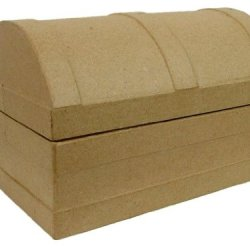 Paper Mache Chest Dome Box By Craft Pedlars
