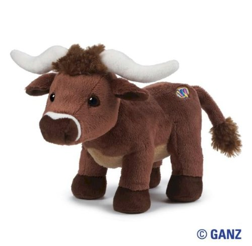 Webkinz Longhorn Steer with Trading Cards