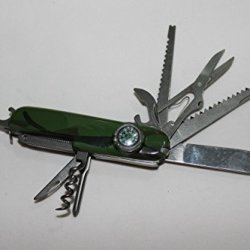 Dx(Hk) Swiss Army Knife--8 In 1-Include A Small Knife, Fork,Spoon And So On