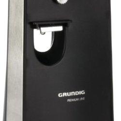 Grundig 1807101U 60W Electric Home Kitchen Can Opener W/Knife Sharpener Co5040U Fast Shipping