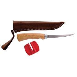 Berkley 4-Inch Fillet Knife With Sheath Sharpener