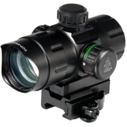 1X32.5Mm Ita Combat Red/Green Dot Sight, 1/2 Moa, 38Mm Tube, Quick-Detach Weaver/Picatinny Mounts 1