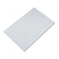 X-Acto X7763 Self-Healing Cutting Mat, Nonslip Bottom, 1 Grid, 24 X 36, Gray