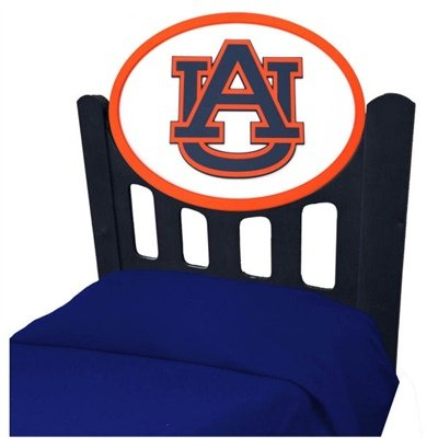 Image of Auburn University Tigers Kids Wooden Twin Headboard With Logo (B002LZZSQS)