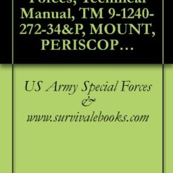 Us Army Special Forces, Technical Manual, Tm 9-1240-272-34&P, Mount, Periscope: M119 (1240-00-394-3148), M119E1 (1240-00-394-3149)