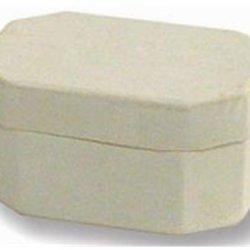 Paper Mache Mini Multi Hexagon Box Vanilla By Craft Pedlars