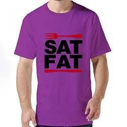 Stabe Men Fork Knife T-Shirt Pre-Cotton Funny S Purple